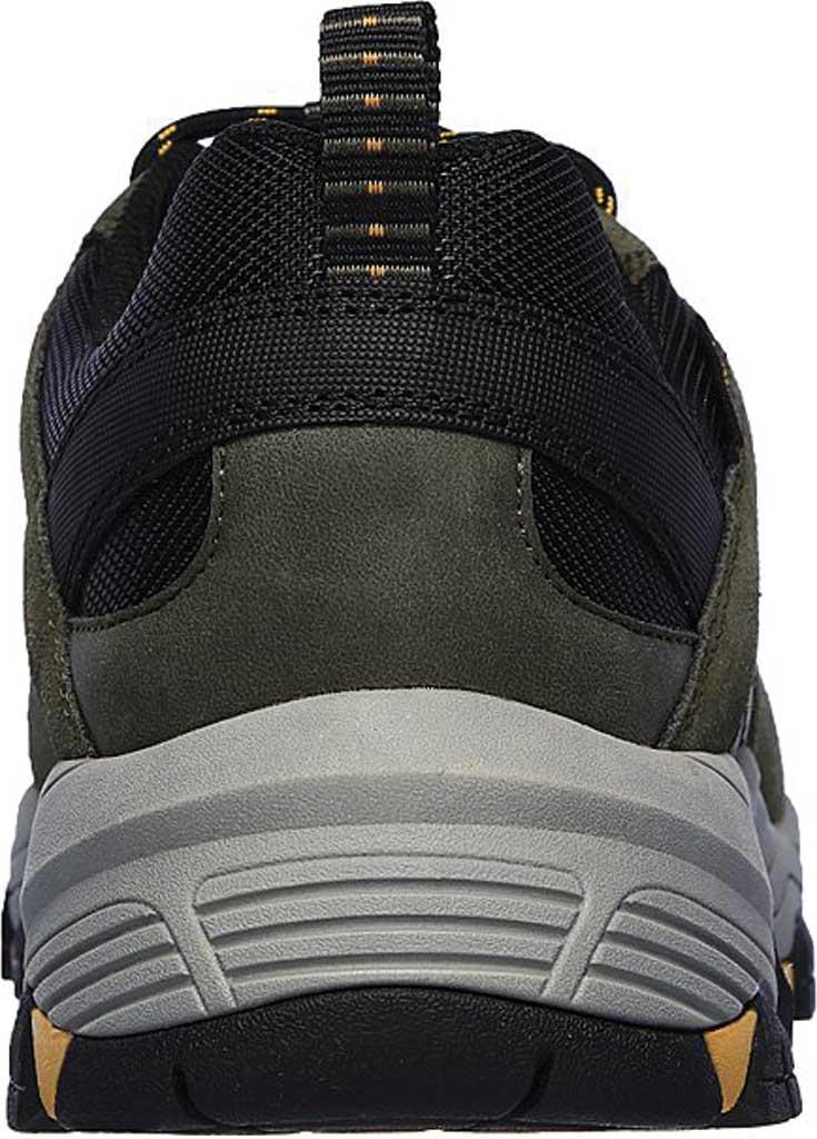 Men's Skechers Relaxed Fit Selmen Enago Hiking Shoe, Olive/Black, large, image 4