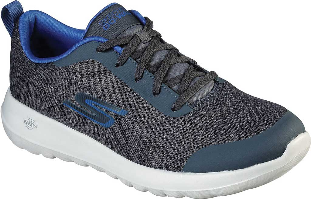 Men's Skechers GOwalk Max Otis Sneaker, Charcoal/Blue, large, image 1