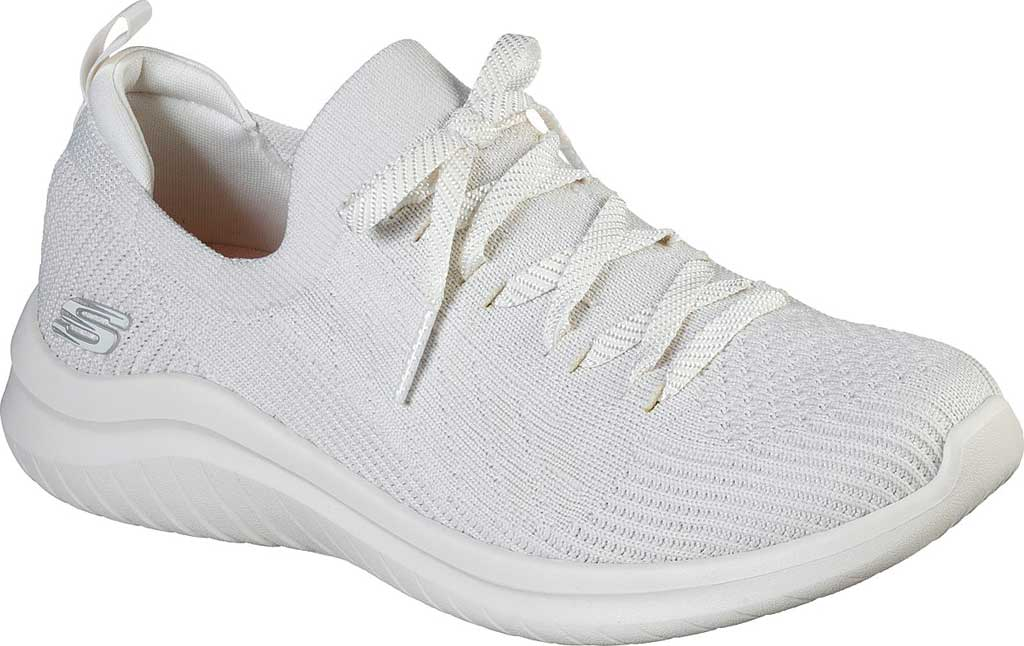 Women's Skechers Ultra Flex 2.0 Flash Illusion Sneaker, Off White, large, image 1