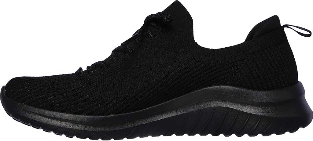 Women's Skechers Ultra Flex 2.0 Flash Illusion Sneaker, Black/Black, large, image 3