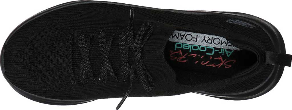 Women's Skechers Ultra Flex 2.0 Flash Illusion Sneaker, Black/Black, large, image 4
