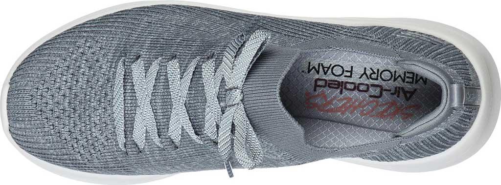 Women's Skechers Ultra Flex 2.0 Flash Illusion Sneaker, Gray, large, image 4