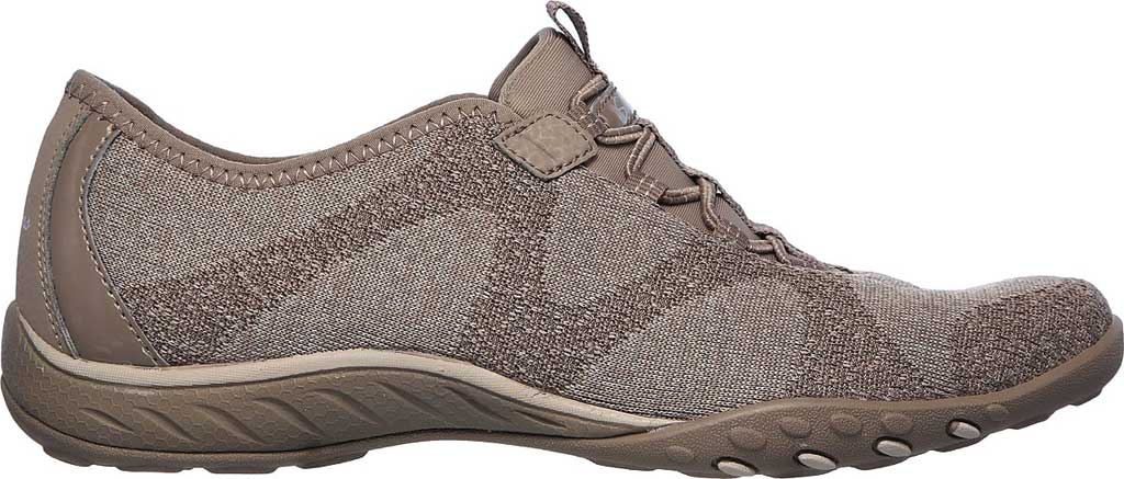 Women's Skechers Relaxed Fit Breathe-Easy Opportuknity Sneaker, Taupe, large, image 2