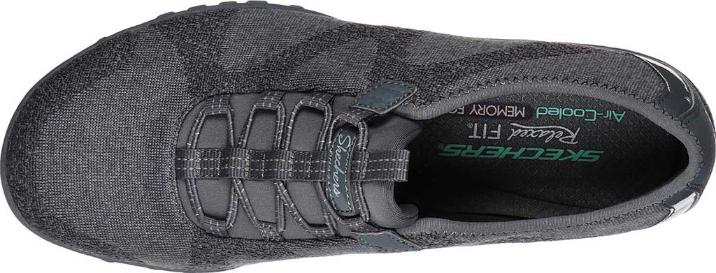 Women's Skechers Relaxed Fit Breathe-Easy Opportuknity Sneaker, Charcoal, large, image 4