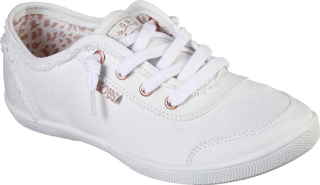 Women's Skechers BOBS B Cute Sneaker, White, large, image 1