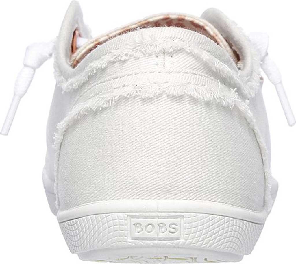Women's Skechers BOBS B Cute Sneaker, White, large, image 4