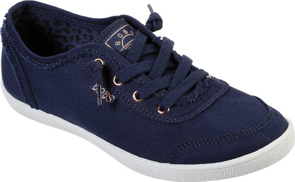 Women's Skechers BOBS B Cute Sneaker, Navy, large, image 1