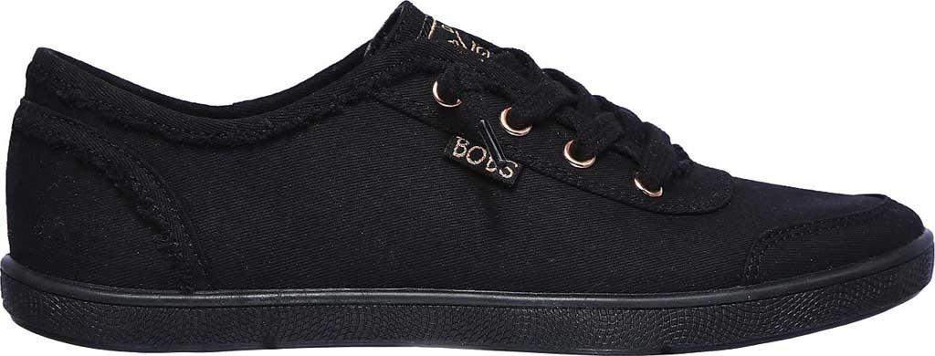 Women's Skechers BOBS B Cute Sneaker, Black/Black, large, image 2