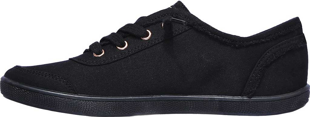 Women's Skechers BOBS B Cute Sneaker, Black/Black, large, image 3