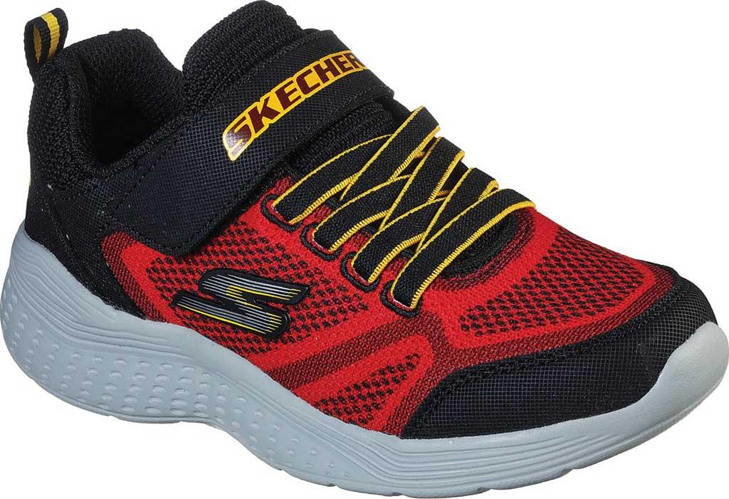 Boys' Skechers Snap Sprints Ultravolt Sneaker, Red/Black, large, image 1