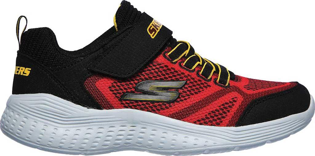 Boys' Skechers Snap Sprints Ultravolt Sneaker, Red/Black, large, image 2