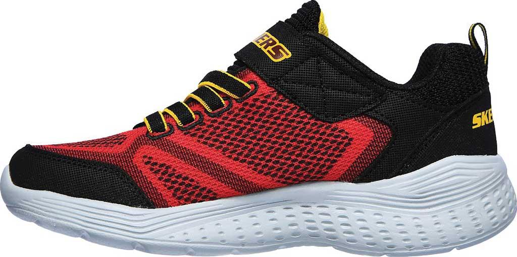Boys' Skechers Snap Sprints Ultravolt Sneaker, Red/Black, large, image 3