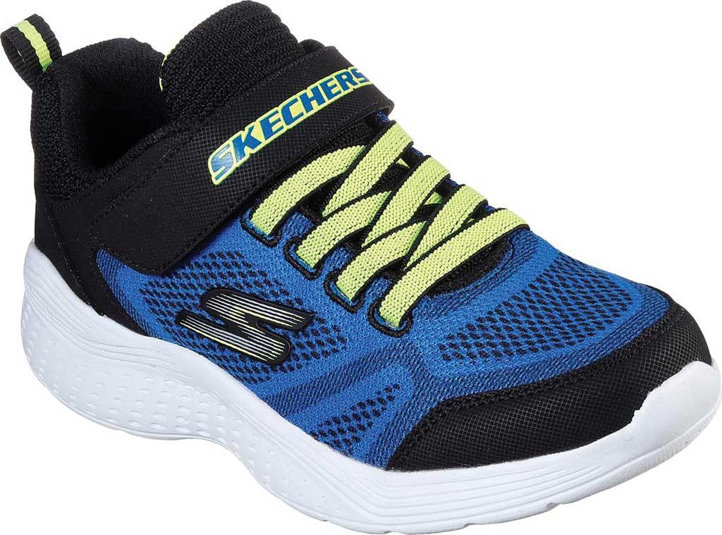 Boys' Skechers Snap Sprints Ultravolt Sneaker, Blue/Black, large, image 1