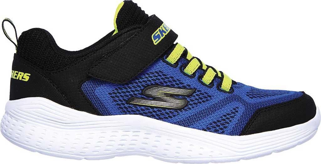 Boys' Skechers Snap Sprints Ultravolt Sneaker, Blue/Black, large, image 2
