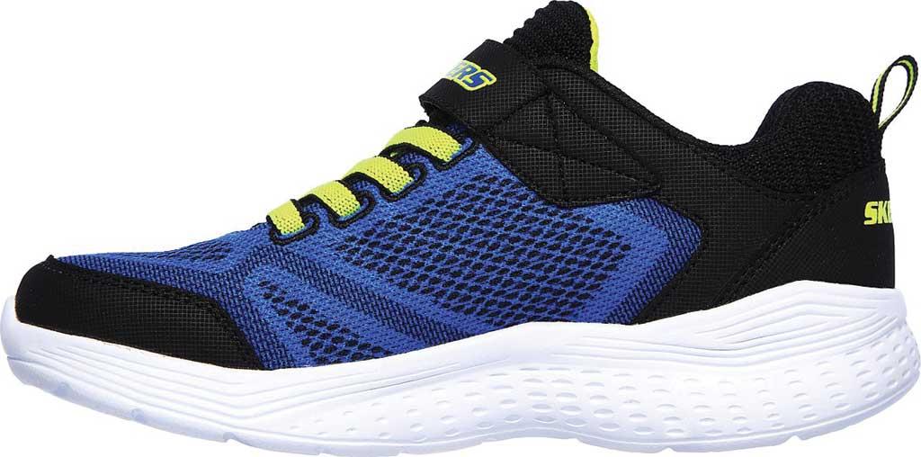 Boys' Skechers Snap Sprints Ultravolt Sneaker, Blue/Black, large, image 3