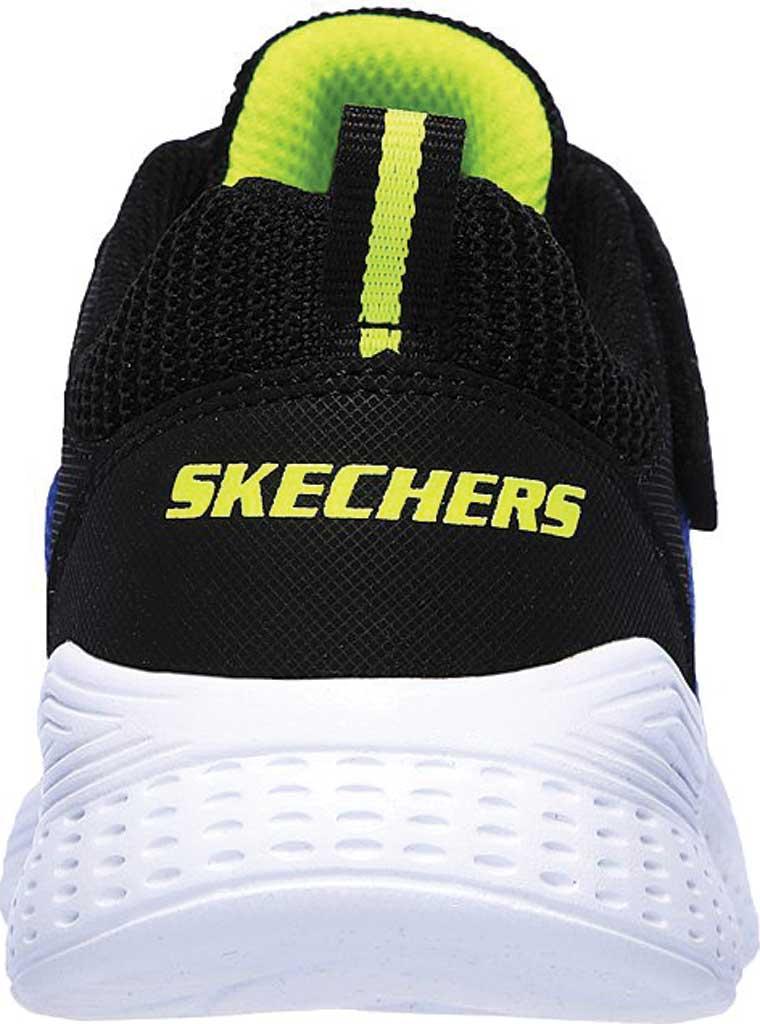 Boys' Skechers Snap Sprints Ultravolt Sneaker, Blue/Black, large, image 4