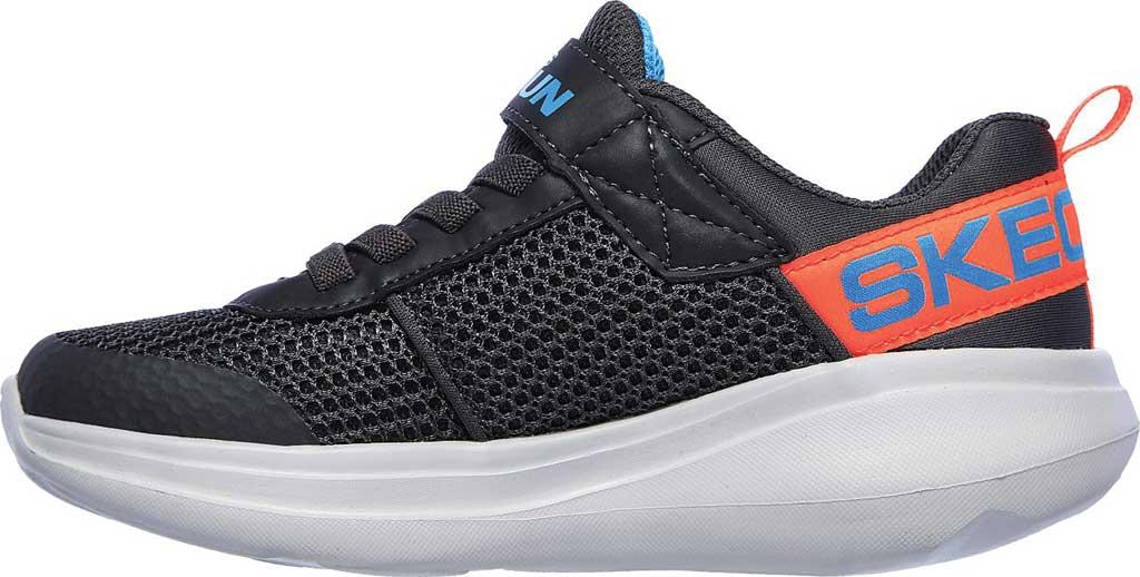 Boys' Skechers GOrun Fast Tharo Sneaker, Charcoal/Blue, large, image 3