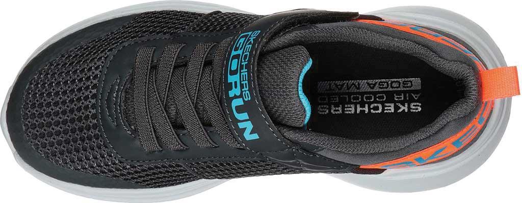 Boys' Skechers GOrun Fast Tharo Sneaker, Charcoal/Blue, large, image 4