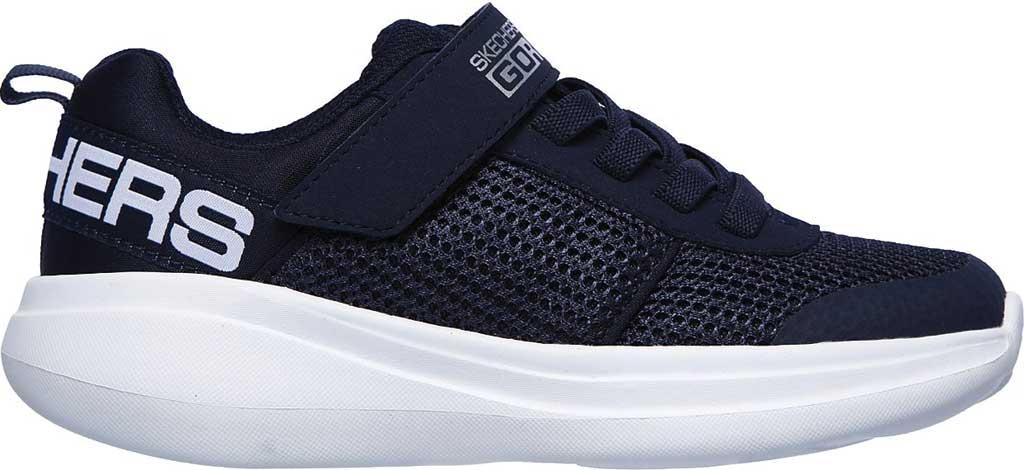 Boys' Skechers GOrun Fast Tharo Sneaker, Navy, large, image 2