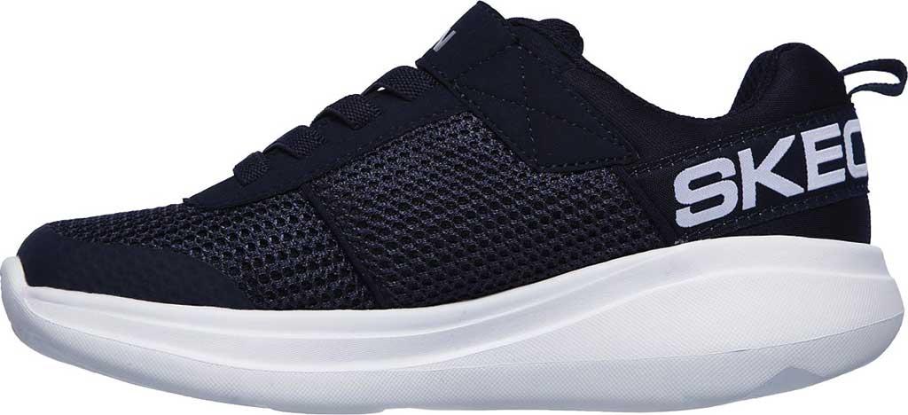 Boys' Skechers GOrun Fast Tharo Sneaker, Navy, large, image 3