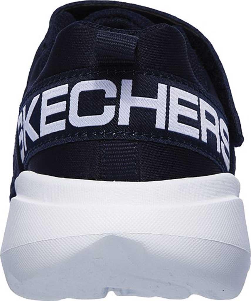 Boys' Skechers GOrun Fast Tharo Sneaker, Navy, large, image 4