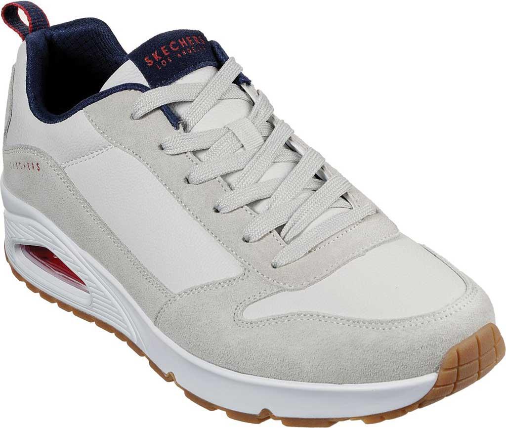 Men's Skechers Uno Stacre Sneaker, Off White, large, image 1