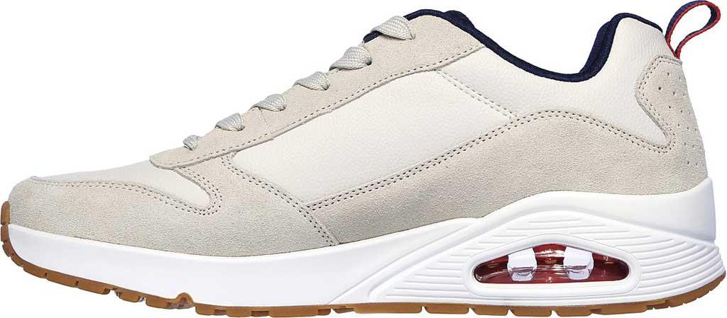 Men's Skechers Uno Stacre Sneaker, Off White, large, image 3