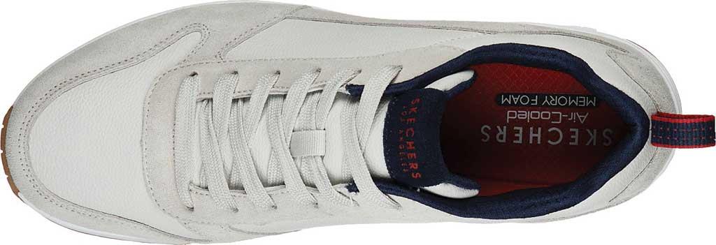 Men's Skechers Uno Stacre Sneaker, Off White, large, image 4