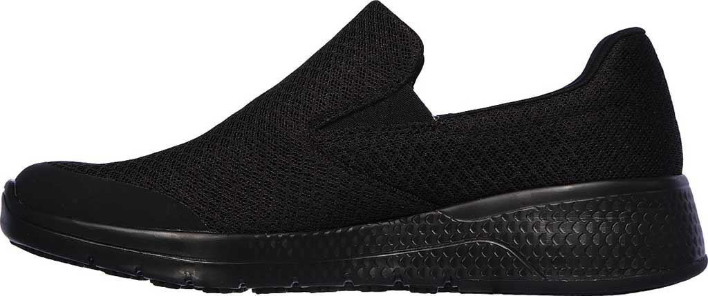 Women's Skechers Work Relaxed Fit Marsing Slip Resistant Sneaker, Black, large, image 3