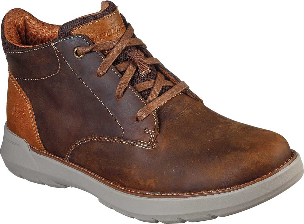 Men's Skechers Relaxed Fit Doveno Molens Ankle Boot, , large, image 1