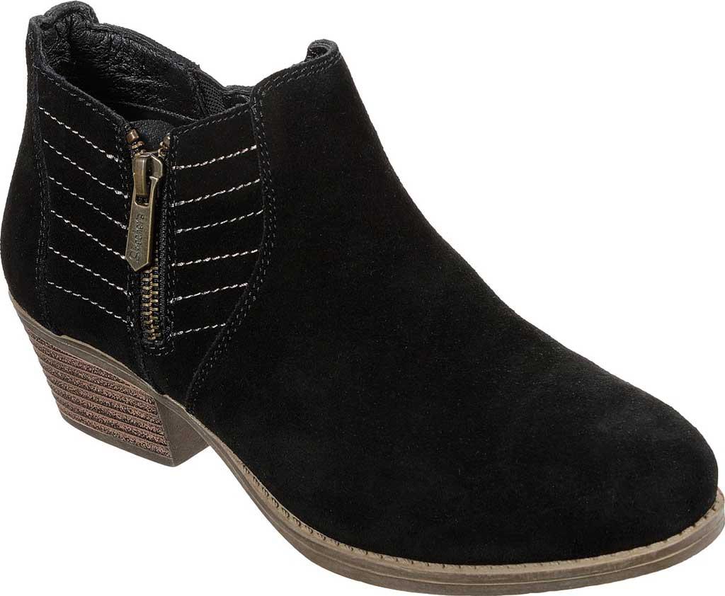 Women's Skechers Lasso Petrol Ankle Boot, Black, large, image 1