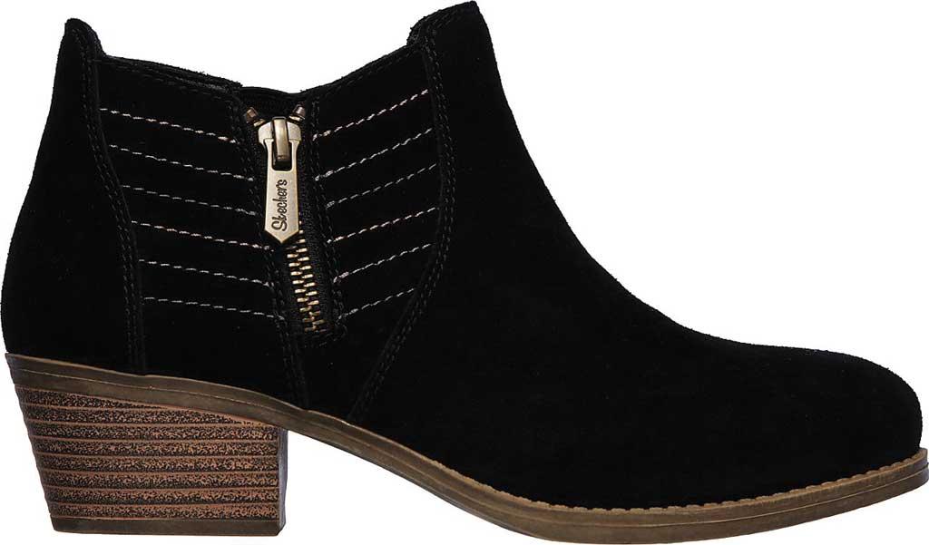 Women's Skechers Lasso Petrol Ankle Boot, Black, large, image 2