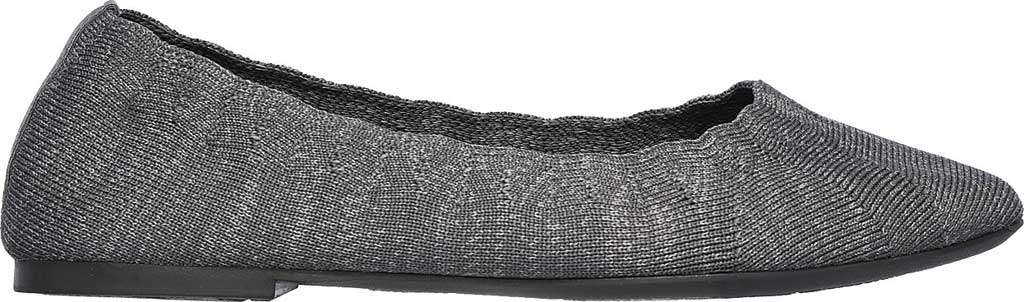 Women's Skechers Cleo Missus Flat, Gray, large, image 2