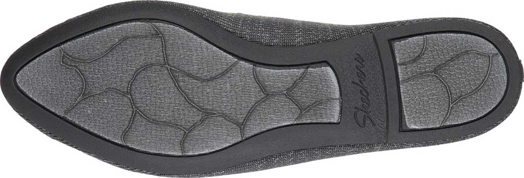 Women's Skechers Cleo Missus Flat, Gray, large, image 4