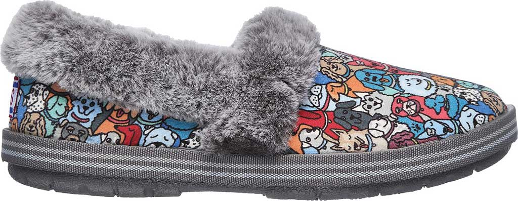 Women's Skechers BOBS Too Cozy Pooch Parade Slipper, Multi, large, image 2