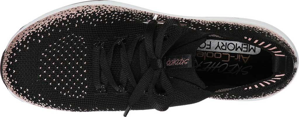 Women's Skechers Skech-Air Element Sweet Sunset Sneaker, Black/Rose Gold, large, image 4
