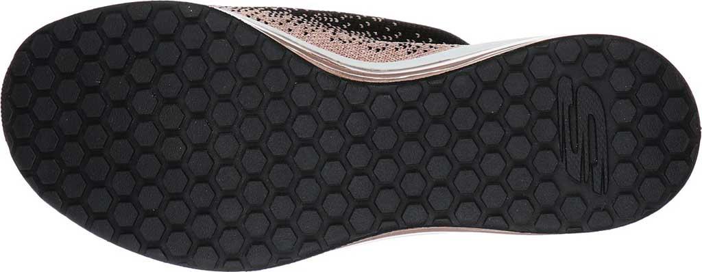Women's Skechers Skech-Air Element Sweet Sunset Sneaker, Black/Rose Gold, large, image 5