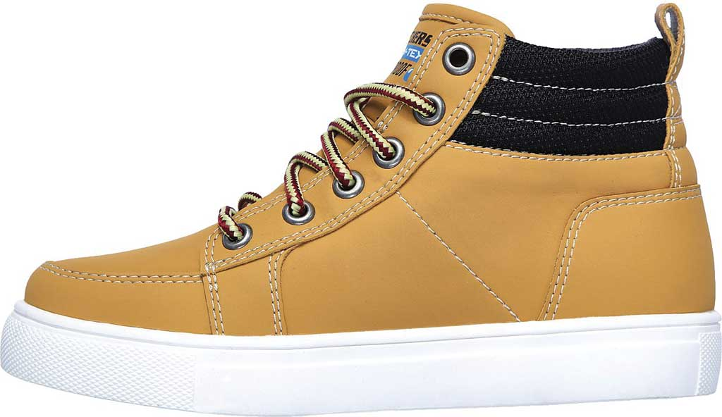 Boys' Skechers City Point Ankle Boot, Wheat, large, image 3