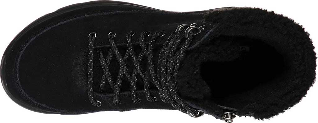 Women's Skechers On the GO Glacial Ultra Woodlands Bootie, Black/Black, large, image 4