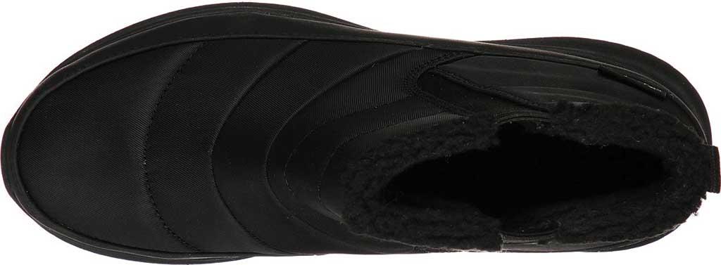 Women's Skechers Ultra Flex Shawty Ankle Boot, Black/Black, large, image 4