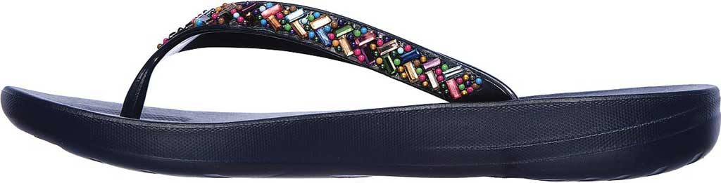 Women's Skechers Bungalow Brunch Date Flip Flop, Navy/Multi, large, image 3