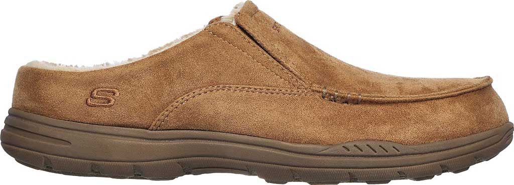 Men's Skechers Relaxed Fit Expected X Verson Slipper, Tan, large, image 2