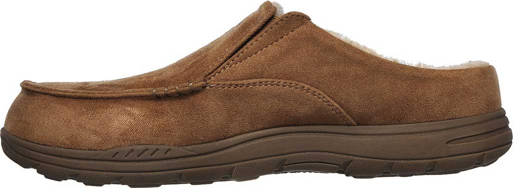 Men's Skechers Relaxed Fit Expected X Verson Slipper, Tan, large, image 3