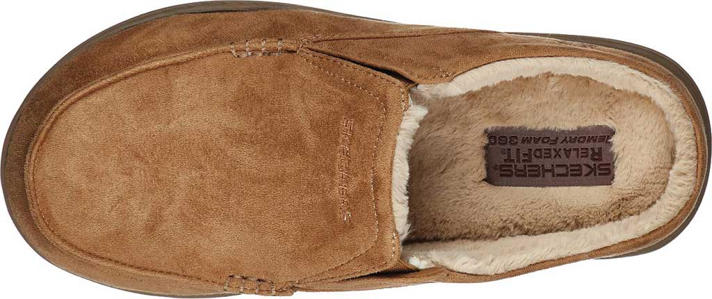 Men's Skechers Relaxed Fit Expected X Verson Slipper, Tan, large, image 4