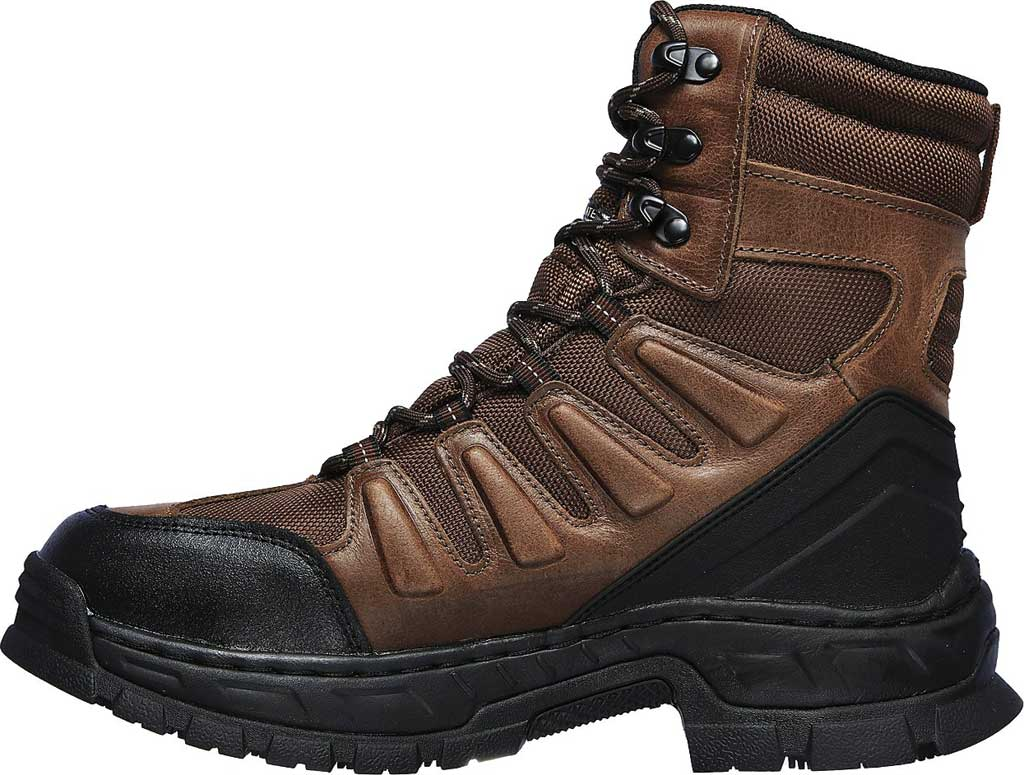 Men's Skechers Work Vinten Courtenay WP SR Boot, Brown, large, image 3