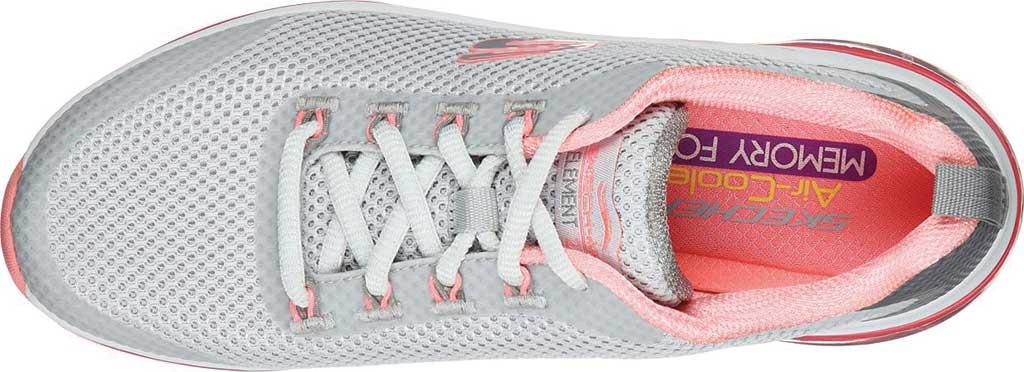 Women's Skechers Skech-Air Element 2.0 Sneaker, Gray/Hot Pink, large, image 4