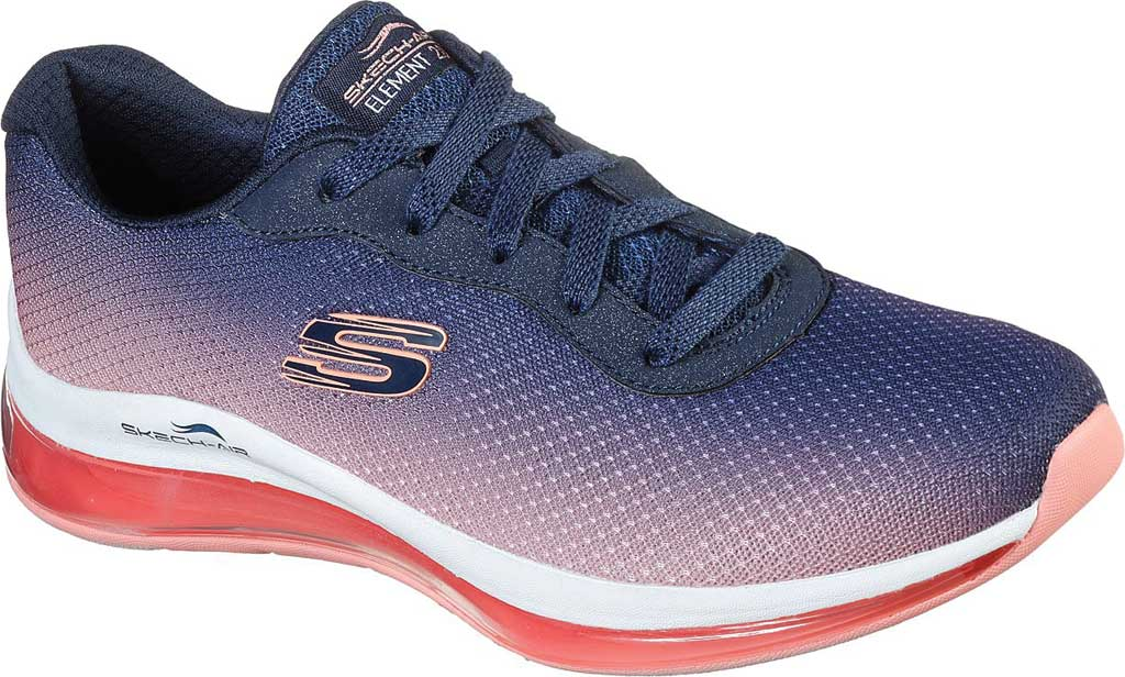 Women's Skechers Skech-Air Element 2.0 Sneaker, Navy/Hot Pink, large, image 1