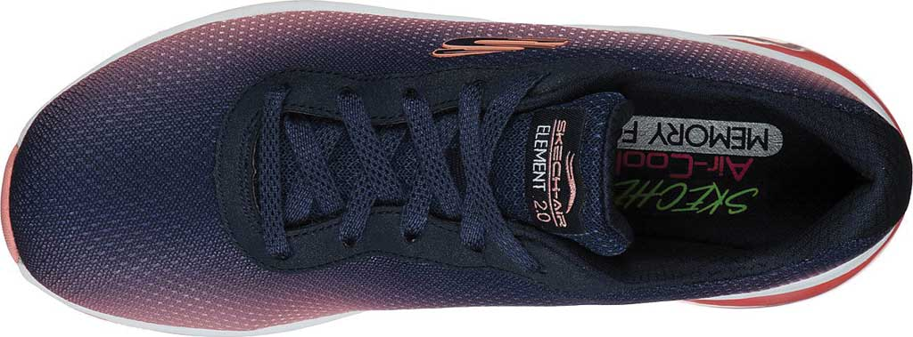 Women's Skechers Skech-Air Element 2.0 Sneaker, Navy/Hot Pink, large, image 4