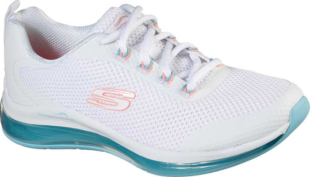 Women's Skechers Skech-Air Element 2.0 Sneaker, White/Blue/Pink, large, image 1