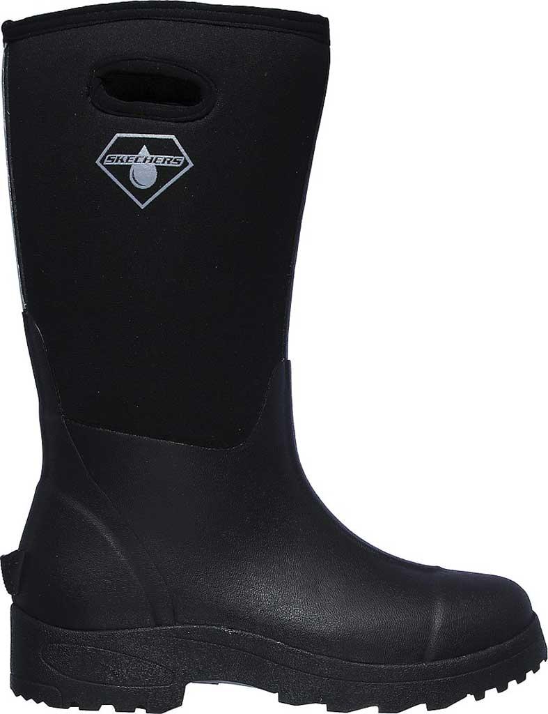 Women's Skechers Work Weirton Farous WP Boot, Black, large, image 2